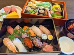 おこもりプラン 弁当(寿司重)